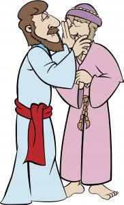 Jesus - healing a blind man