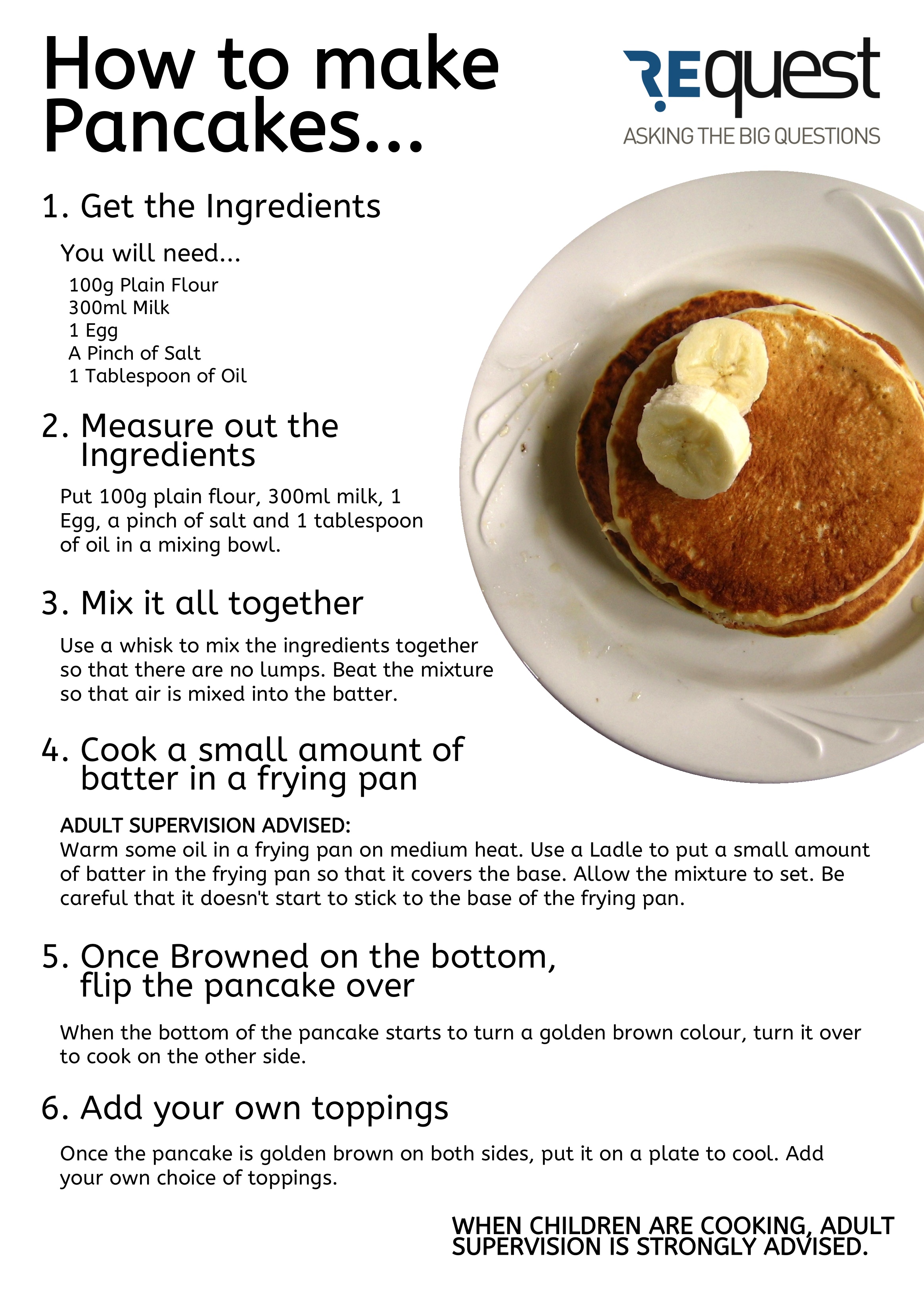 Make Pancake Cake